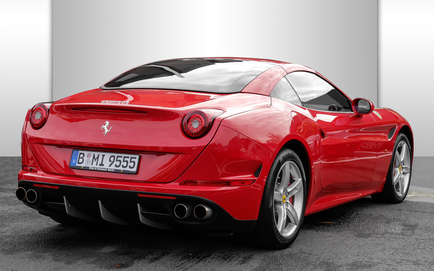 ferrari california berlin heck