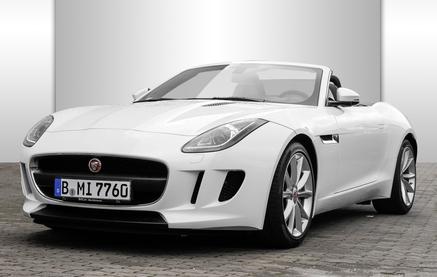 jaguar f-type berlin front