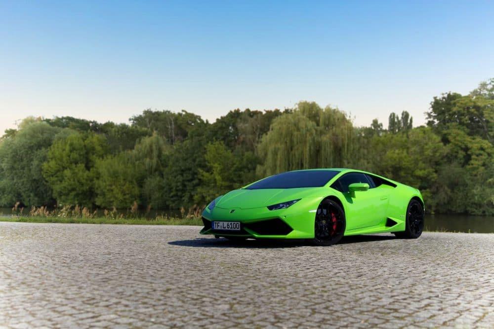 Lamborghini Huracan Berlin vorn
