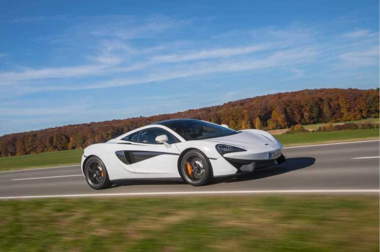 McLaren 540C Stuttgart Seite