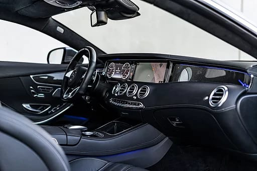 mercedes s63 cockpit