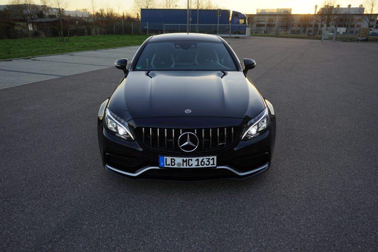 Mercedes C63S AMG mieten in Stuttgart