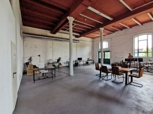 startup loft coworking space