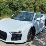 Audi R8 v10 Spyder mieten 1