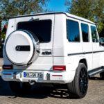 Mercedes G Klasse Heckansicht