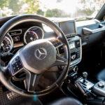 Mercedes G Klasse Cockpit