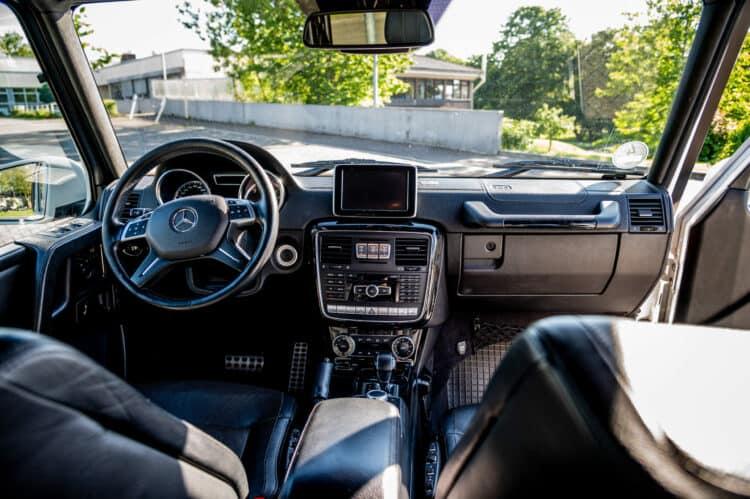 Mercedes G Klasse Interior