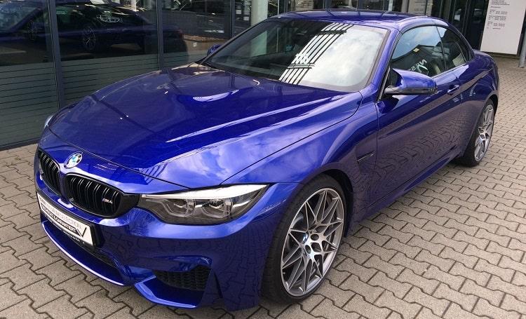 BMW M4 Competition mieten in Frankfurt 1