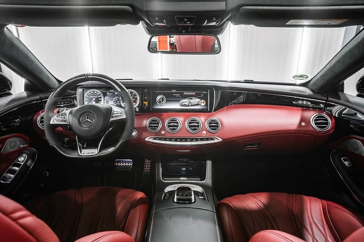 Mercedes S63 Cabrio mieten in Bremen 2