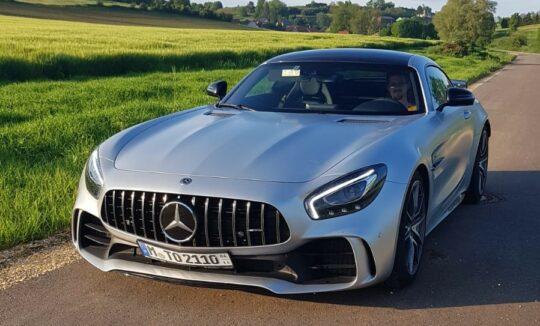 Mercedes-AMG GT R mieten in Ulm