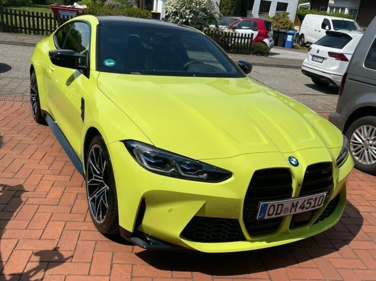 BMW M4 Competition mieten in Hamburg