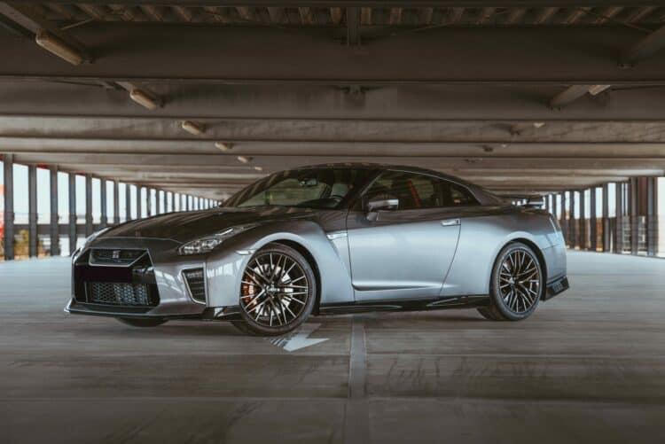 Nissan GT-R Seitenansicht