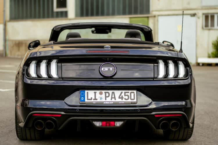 Ford Mustang GT mieten am Bodensee