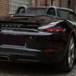 Porsche Boxster 718 Heckansicht