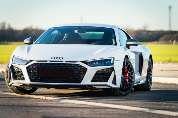 Audi r8 Frontansicht