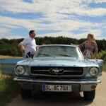 Ford Mustang Oldtimer Front Ansicht