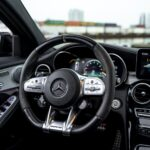 Mercedes-Benz C63S AMG Cockpit