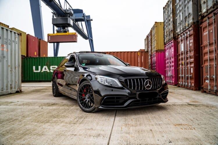 Mercedes-Benz C63S AMG Frontansicht