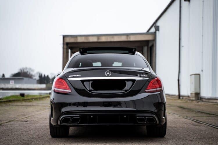 Mercedes-Benz C63S AMG Heckansicht