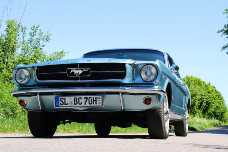 Ford Mustang Oldtimer mieten in Flensburg