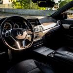 Mercedes E-Klasse Cabriolet Interior