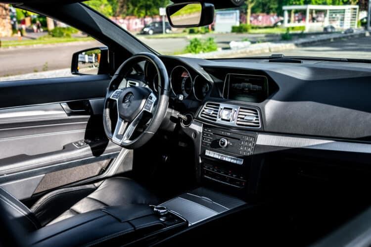 Mercedes E-Klasse Cabriolet Cockpit