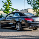 Mercedes E-Klasse Cabriolet Heckansicht
