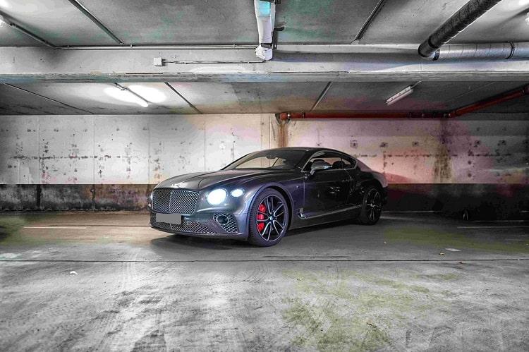Bentley Continental GT mieten in Frankfurt